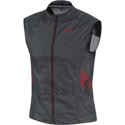 Fitness Conserve precious core warmth on your next cool-weather run with the Gore Running Wear Men's Magnitude AS Vest. This lightweight (4.6 ounces) Active Shell vest with a WindStopper membrane blocks chilly breezes but won't weigh you down. Gore Running Wear even built in a race number holder and easy-reach pockets to make sure you're ready for race day. - $129.95