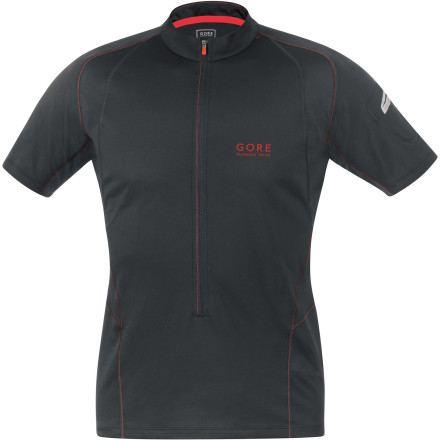 Fitness The feature-packed Gore Running Wear Men's Magnitude 2.0 Zip-Neck Short-Sleeve Shirt was designed for long-distance running. Plenty of ventilation, handy pockets, and high-visibility reflective details ensure you  have all you need for your next endurance adventure. - $89.95