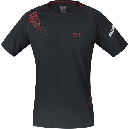 Fitness The designers at Gore Running Wear put some thought into what you'd need on long-distance runs, and the result is the Men's Magnitude 2.0 Short-Sleeve Shirt . Wicking fabric, breathable mesh, three handy pockets, and high-visibility reflective details ensure you  have all you need for your next epic endurance adventure. - $65.95