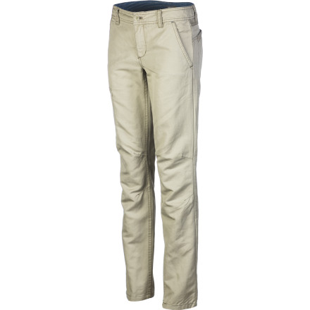 After a restful sleep, slip into the Horny Toad Women's Swept Away Pant, make some breakfast, and enjoy it out on the front porch. This straight-leg pant features articulated knee darts and an angled back yoke seam for a comfortable fit. - $84.95