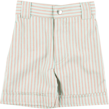 The Kate Quinn Organics Infant Boys' Pocket Shorts are cute enough to wow friends and relatives at special occasions, and comfy enough for everyday practice sessions for your little guy's new-found walking skills. - $27.95