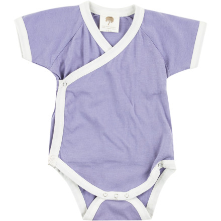 It's never easy to find clothing is comfortable, cute, and convenient, but the Kate Quinn Organics Infant Girls' Kimono Short-Sleeve Bodysuit manages to fit all three into one cozy little romper. - $19.95