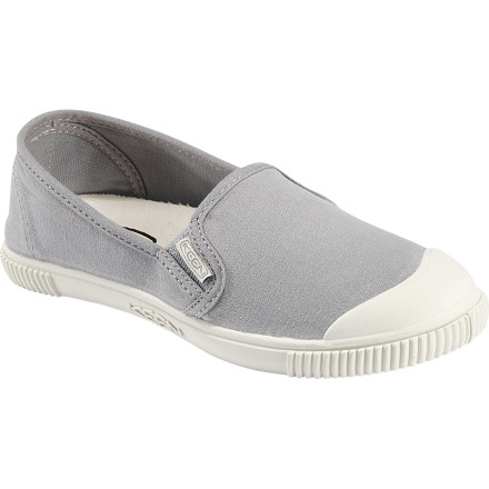Some plaid shorts, a kicky skort, or cropped chinos, no matter what you're wearing this summer, the KEEN Women's Maderas Slip-On Shoe belongs on your feet. Colorful and comfy, these laid-back sneaks complement all your casual-day options. - $59.99