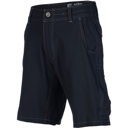 Camp and Hike Suit up in the K 1/4hl Raptr Shorts before you head out into the wild parts of the world. These durable, lightweight shorts are great for exploring desert slot canyons or anytime you plan on playing in warm weather. Plus, the DWR coating helps keep you dry if you get caught in a sudden summer storm. The casual style lets you wear these hiking shorts out to eat on your way home without looking like you just wandered in from the wilderness (even if you did). - $68.95