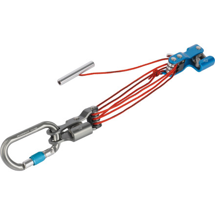 Climbing If your next adventure involves glacier travel, make sure the Mammut RescYou Rescue Belay Device is clipped to your harness. In the event of a fall into a crevasse, the RescYou device allows for rapid self rescue or the rescue of another person with a compact 6:1 pulley system that can be attached directly to your harness. The device eliminates the need for you to setup a time-consuming system in a rescue scenario where every extra second counts. - $124.95