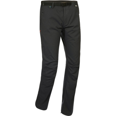 From coastal treks in the rainy northwest to springtime assaults on alpine rock routes, suit up in the Millet Men's Miage Pant. The durable Schoeller One softshell fabric features a 3XDRY treatment for solid weather resistance and moisture management while the zippered side vents allow you to dump excess heat on steep trail sections. Plus, the two-way fabric stretch and preformed knees allow you to move freely over technical terrain. - $109.95