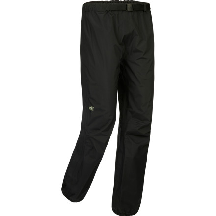 Camp and Hike When you're five miles deep on an all-day hike and the sky turns ominously dark, pull the Millet Men's Fitz Roy Full Zip Pant from your pack and continue forward without a second thought. The 2.5-layer DryEdge fabric provides complete waterproof and breathable protection while the full-length side zips allow you to take the pants on and off without having to remove your boots. - $109.95