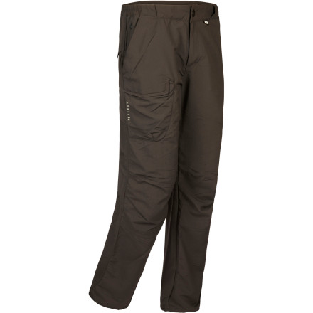 Camp and Hike Whether you're trekking through a remote European village or simply taking a walk around the block, pull on the versatile Millet Men's Globe Trotter Pant. The lightweight and durable Drynamic Bi-Face fabric wicks away sweat for warm-weather comfort, and the articulated knees allow you to move with complete freedom. Plus, multiple zippered security pockets keep your cash and passport safe from crafty pick pockets. - $79.95
