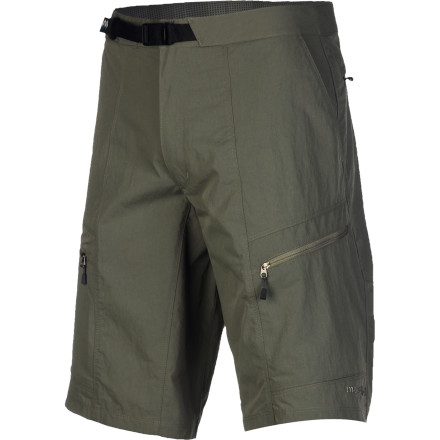Camp and Hike From sandstone slot canyons to humid southern trails, suit up in the MontBell Men's South Rim Short before shouldering your pack and starting up the trail. The DWR finish helps repel light rain and keeps the lightweight nylon material from soaking up water when you cross a swollen creek, while the two-way fabric stretch and gusseted crotch allow you to move with total freedom. Plus, a total of six pockets provide ample space for all your trail-wandering essentials. - $67.95