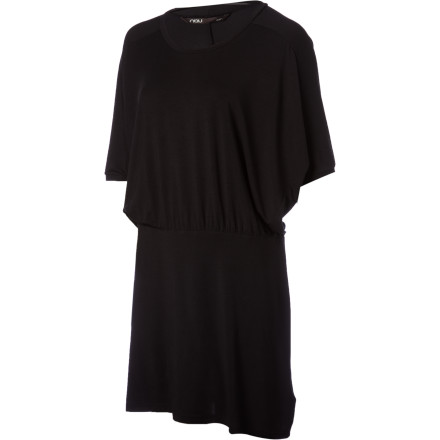 Entertainment Impress your guests with the NAU Women's Repose Dress at your next cocktail party. This chic, comfortable dress shows off your sense of style, drapes well, and boosts your confidence as you make colorful cocktails and munch on olives. - $97.95
