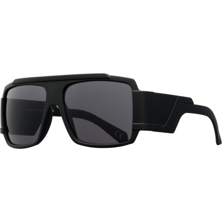 Camp and Hike While everyone else is trying to be retro, you're getting your future on in the Neff Banks Sunglasses. It has a familiar frame shape, but with unique extra-deep arms that are sure to generate some double takes as you walk by. - $19.95
