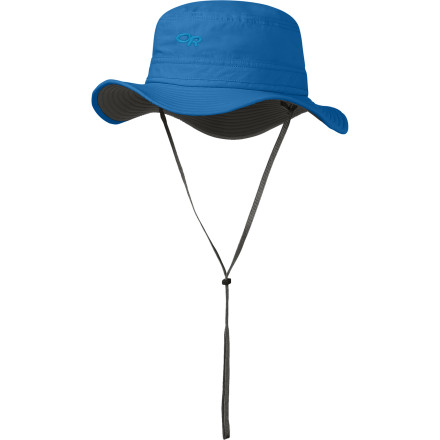 Camp and Hike Help keep the mosquitoes from ruining your boys first camping trip with the Outdoor Research Sentinel Kids' Hat. The fabric is treated with Insect Shield, which aids in repelling mosquitoes, black flies, and other biting insect. - $36.95