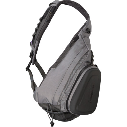 Camp and Hike For angling days when a vest alone won't cut it but a full-on backpack would be overkill, fill the Patagonia Stealth Atom Sling with your fly-fishing essentials and make for your favorite lake, river, or backcountry stream. - $89.00