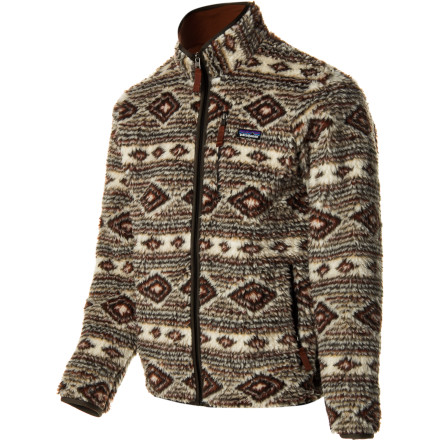 Sometimes the best way to move forward is to take a step back, and the vintage-inspired Patagonia Men's Classic Retro-X Cardigan allows you to do just that. The furry half-inch polyester fleece traps warmth and blocks windy weather with modern performance while the Y-jointed sleeves allow you to move with complete freedom. - $125.30