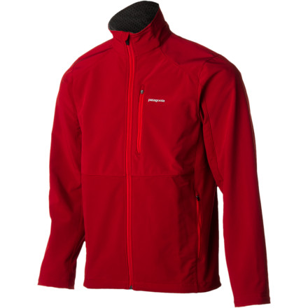 When it comes to tough weather protection that won't restrict your movement, the Patagonia Men's Integral Softshell Jacket is hard to beat. The DWR fabric finish and strategically placed windproof panels shield you from stormy weather while a healthy dose of spandex allows the jacket to accommodate every move you make. - $104.27