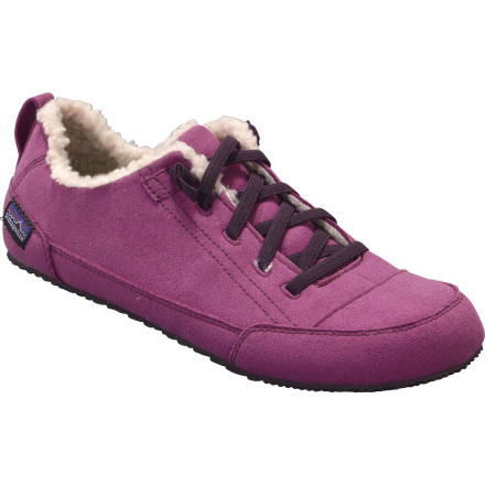 Camp and Hike The super-light Patagonia Advocate Lace Shoe is highly packable, so it makes a killer travel companion whether you're relaxing at the beach house or around the campfire after a long day's hike. Your weary dogs can relax in style, cuddled in soft, cozy PET fleece and cushioned by 9mm of rubber and EVA underfoot. - $56.25