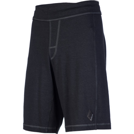 Camp and Hike Add a little spice to your short with the raw-edge hemp-blend prAna Men's Jackson Short. A true performer, with four-way stretch, this short also delivers sustainable righteousness with organic cotton and rugged pigment-dye good looks. A practical  yet cool canvas drawcord waistband gives you a comfy everyday fit. - $69.95