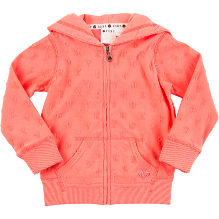 Surf When a cool breeze blows in off the water, keep your little girl cozy in the Roxy June Dune Zippy Toddler Girls' Full-Zip Hoodie. - $39.50