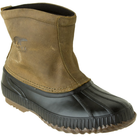 Entertainment Head out to check on the chickens this winter in something a little more substantial than tennis shoes. Sorel made its Cheyanne Premium Boots to take care of your feet this winter while you busy yourself looking after the farm. The vulcanized rubber shells extend around your toes and heels to block out snow and water, and taped seams prevent moisture from finding a way to sneak in. The 200g of Thinsulate insulation traps in warmth and keeps your feet feeling toasty down to -25F. Feel free to wear them when you and the missus go out on the town, toothe full-grain leather uppers will show all of your farmer friends that you two are living the good life. - $93.46