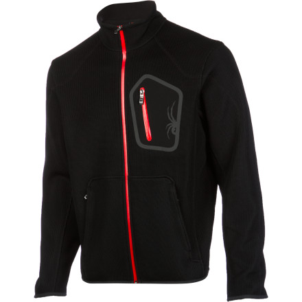 Ski Whether you're layering up prior to carving fresh corduroy or simply walking the pooch on a crisp fall day, zip up the Spyder Men's Paramount Fleece Jacket. The medium-weight sweater knit features a soft fleece backing for warmth, and the active fit and ski-specific cut make this fleece ideal for layering beneath outerwear. - $132.97