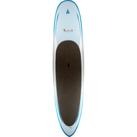 Kayak and Canoe Laird Hamilton is synonymous with big-wave and tow-in surfing, but hes also been on the forefront of the stand-up paddling movement. Stand-uppers and those ready to try this popular pastime will be stoked on the Surftech Laird RH Tuflite Paddle Board. A wide, thick design provides substantial stability, while low rocker and narrow tail work in your favor for uncompromised speed and maneuverability. Surftechs proprietary Tuflite core wont absorb water if you do happen to bounce off rocks and crack the fiberglass shell, or kiss some coral on flat day off the coast. - $1,091.97