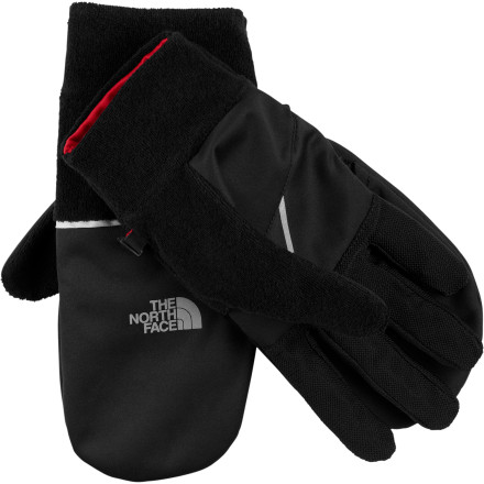 Fitness When you need all five fingers working dexterously to tighten your shoe laces, The North Face Winter Runners Glove is there. When you need the warmth of a mitten on your run, The North Face Winter Runners Glove is, amazingly, also there. - $18.98