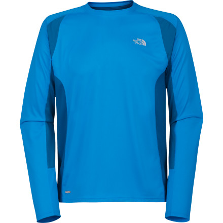 Fitness The perfect piece to slip on before your next morning run, The North Face's quick-drying GTD Long-Sleeve Crew features super-breathable, moisture-wicking fabric to keep you cool and comfortable down the stretch. - $41.95