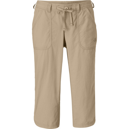 Slip into your The North Face Women's Horizon Betty Capri Pants and drop you passport inside the internal security pocket. Give the glove a spin and go wherever your finger points. These pants are built for adventure, and so are you. - $54.95