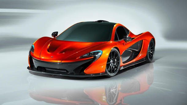Auto and Cycle McLaren P1 supercar emerges for its first sexy shots