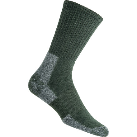 Camp and Hike Wearing a quality sock like the Thorlos Men's Trail Hiking Crew Sock is one of the easiest and most affordable things you can do to improve your experience out on the trails. The Coolmax construction and ventilation panels keep toes dry and comfortable while cushioning in the ball and heel provide protection where you need it most. - $16.95