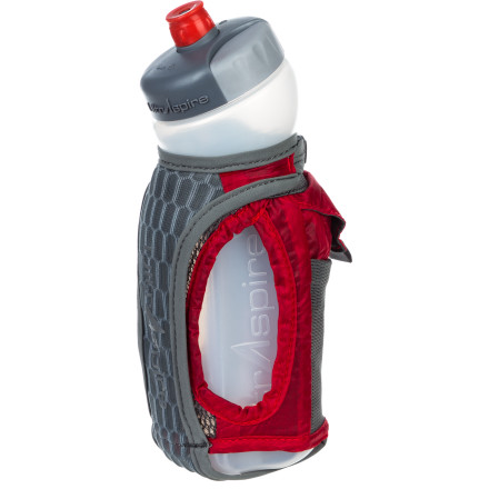 Camp and Hike Stay hydrated and well-fueled with the ISomeric Magnon Water Bottle. This unique bottle holder features a sweat-proof Magnon Electrolyte pocket that keeps your salt tabs dry and close at hand during your long-distance running session. - $31.45