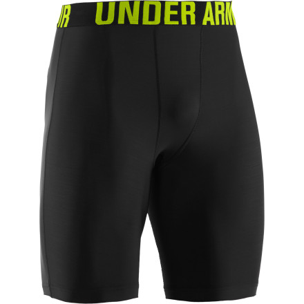 Surf If you haven't worn and experienced the benefits of a compression short, end the deprivation now with the surf-savvy Under Armour Men's Keewaydin Short. The snug-fitting baselayer aligns muscles to reduce vibration, increase power, and enhance proprioception for less fatigue and enduring performance. And this hard-working short also wicks away sweat and dries in a flash. - $29.95