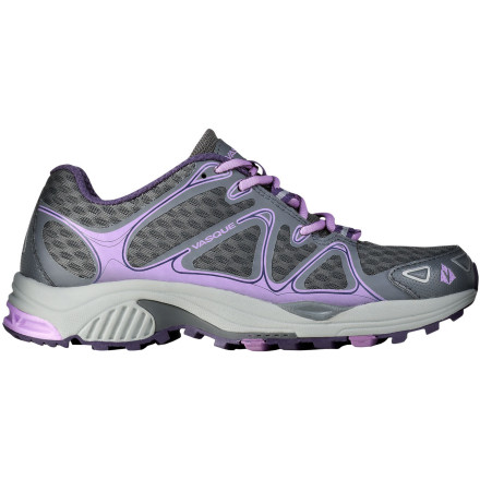 Fitness Fashions in running shoes seems to be swinging wildly back and forth, but the Vasque Women's Pendulum Trail Running Shoe has decisively staked out the middle ground. Low-profile and with a moderate 6mm heel-to-toe drop, this trail runner nonetheless offers the cushioning and protection you need to take on rugged terrain. The Pendulum is the lightest and most nimble trail running shoe in the Vasque lineup, offering a solution for the minimalist-minded runner who doesn't want to get beat up by root-covered, rock-strewn trails. - $87.96