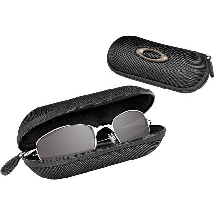Camp and Hike Protect your Oakley investment in the Oakley Small Soft Vault Sunglass Case. This soft, lightweight reinforced-nylon shell holds A Wire, Crosshair S, C Wire, Fate, Fives 2.0, Fives 3.0, Half Wire, Haylon, Minute, Oakley Canteen, Square Wire, Square Wire 2.0, Teaspoon, Twitch, Whisker, and XS Fives. The sunglasses aren't included. - $20.00