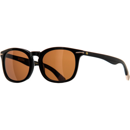 Camp and Hike The LRG Mr. Incentive Sunglasses' curved nose bridge offers some subtle separation from the other cookie-cutter throwback shapes out there. Low-key logo details at the temples let everybody know what time it is. - $77.95