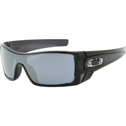 Camp and Hike When the local zoo commissions you to hunt down the deadly escaped Dolphinsquid, the Oakley Batwolf Sunglasses may boost your cred. Bounty hunters with medium-to-large-sized heads will find the Batwolf to be a comfortable fit. - $120.00