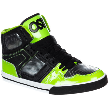 Skateboard Keep your kid looking fresh with the mid-top, super-styley Osiris NYC83 VLC Skate Shoe. - $39.96