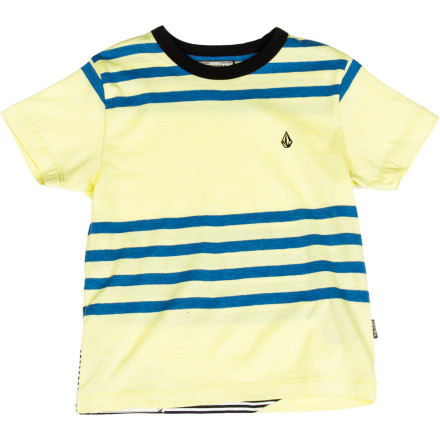 Surf Volcom Circle Square Crew - Short-Sleeve - Little Boys' - $22.95
