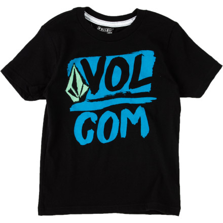 Surf Volcom Linked Up T-Shirt - Short-Sleeve - Little Boys' - $15.95