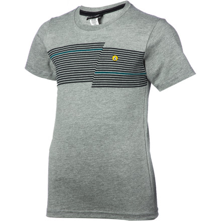 Surf Volcom Step Stripe T-Shirt - Short-Sleeve - Little Boys' - $19.95