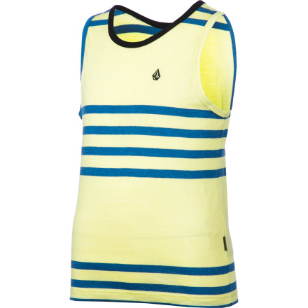 Surf Volcom Circle Square Tank Top - Little Boys' - $22.95