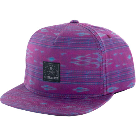Surf Variety is the spice of life, so try a slightly different look this summer with the Billabong Smashing Snap Back Hat. - $29.45