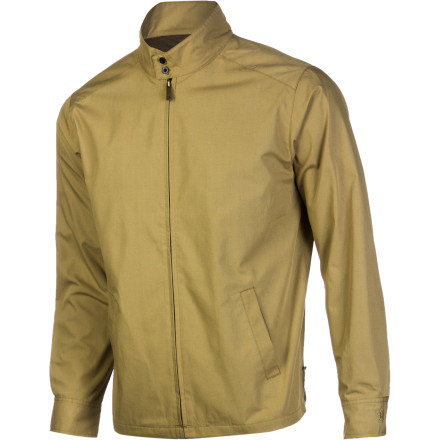 Flashy prints and bright colors are trends that come and go, but for style that stands the test of time, look no further than the Brixton Edwin II Men's Jacket. This lightweight Harrington jacket has a tailored cut for a proper fit and a simple exterior with minimal branding to give it a clean, classic look that you can take anywhere. - $55.97