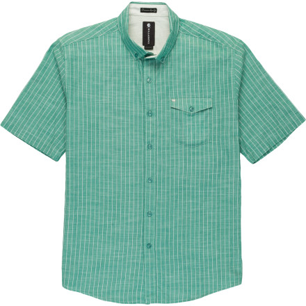 Surf Billabong Stringent Woven Shirt - Short-Sleeve - Men's - $49.45
