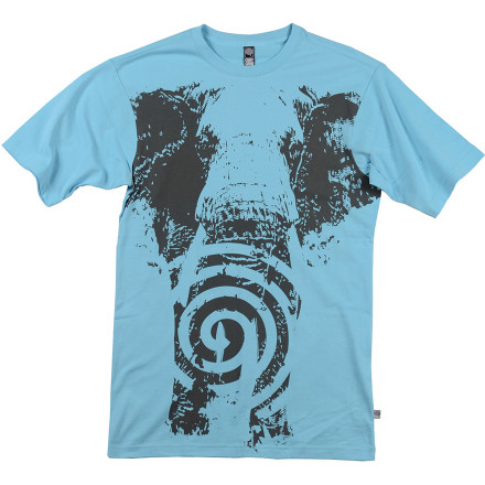 Rock the CandyGrind Kokiri Men's Short-Sleeve T-Shirt for style that makes its presence felt like a herd of elephants. - $25.95