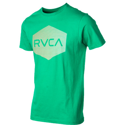 RVCA Halftone Hex T-Shirt - Short-Sleeve - Men's - $19.16
