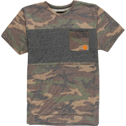 Surf Billabong Invert Camo Crew - Short-Sleeve - Men's - $39.45