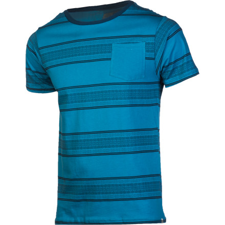 Reef Anutta Cool Stripe Crew - Short-Sleeve - Men's - $35.95