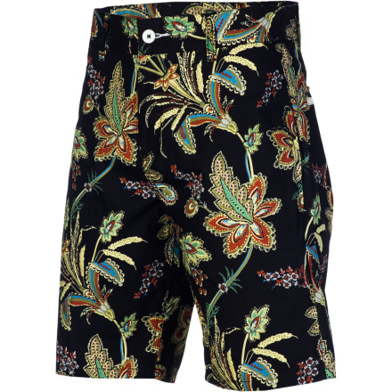 Are you man enough to rock floral-print chino shorts Andrew Reynolds most definitely is, which is why he designed the Altamont Perennial Short. - $51.95