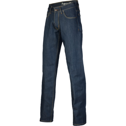 The LRG Reason For The Season TS Denim Pant features raw cotton denim fabric, contrast stitching details, and LRG's True Straight fit for clean style that's not too tight and not too loose. - $48.27